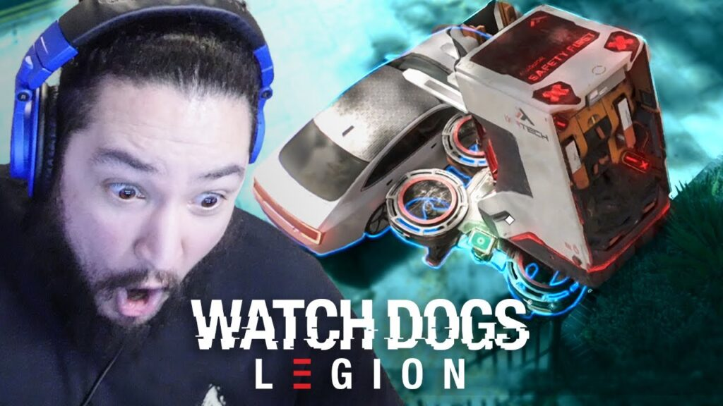 [ 3 ] FORKLIFT ON A DRONE? • WATCH DOGS LEGION: PERMADEATH