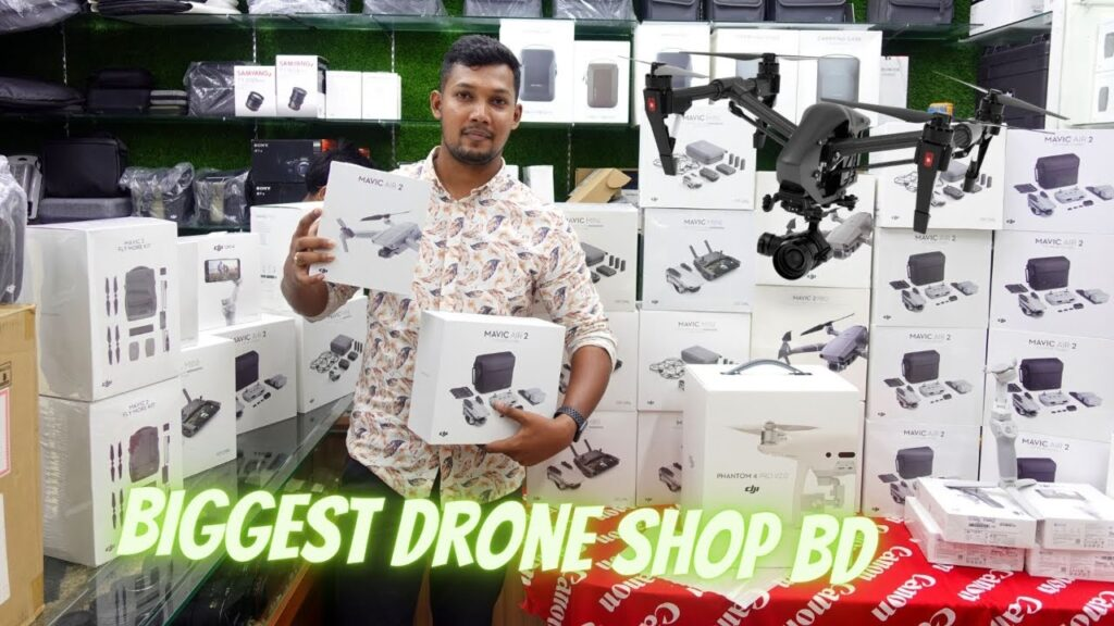 Biggest Drone Shop In BD | Buy Any Drone/Drone All accessories Best Price