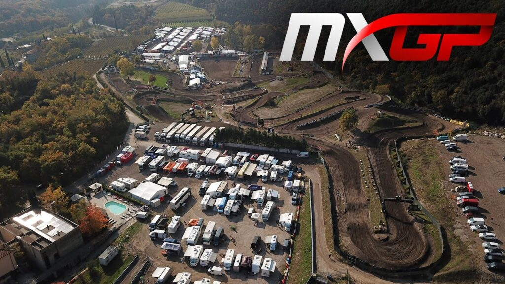 Drone First Lap – MXGP Race 2 – MXGP of Trentino 2020