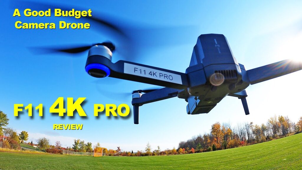 F11 4K PRO Review – This is a Very Good Budget Camera Drone
