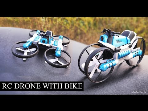 Flying Motorcycle RC Drone – App Control Drone – Motorcycle Drone Flying Bike Drone FPV Camera drone