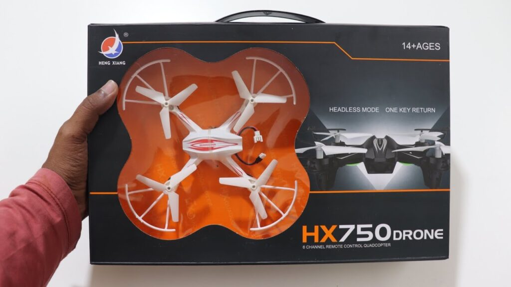 HX 750 Drone Unboxing & Testing – Cheapest RC Drone India – Chatpat toy tv
