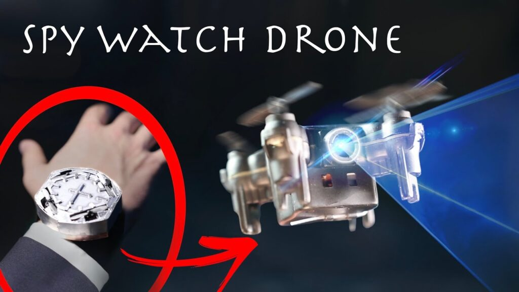 Make a Watch That Turns Into a Spy Drone W/ Live Video! (Incredibles/Spider-Man Gadget for Cheap)