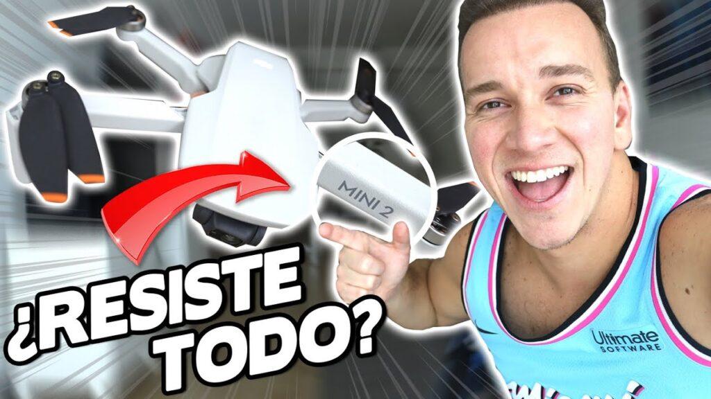 Probando el MINI DRONE más POTENTE del mundo – DJI MINI 2 REVIEW – Oscar Alejandro
