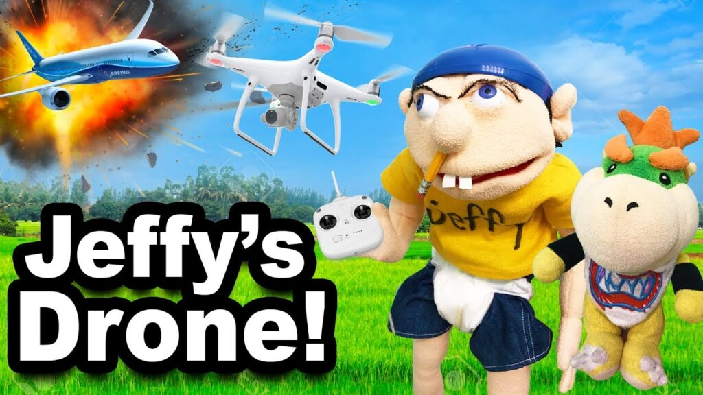 SML Movie: Jeffy's Drone!