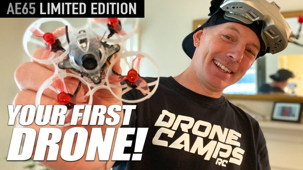 YOUR FIRST DRONE! – Eachine AE65 Limited Edition Anniversary Drone – REVIEW & FLIGHTS 🏆🏁